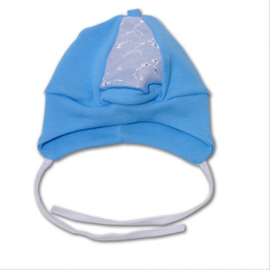 caciula bebe azuga bleu