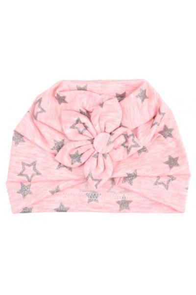 turban fete roz stelute