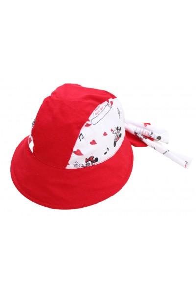 bandana copii rosie mouse