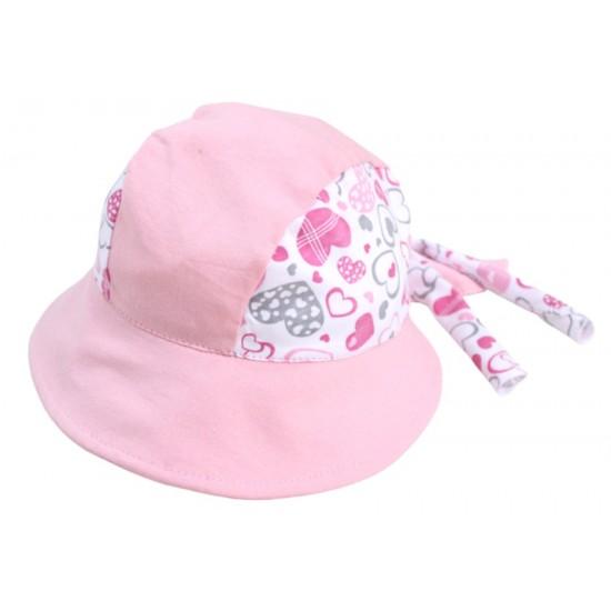 bandana copii roz inimioare