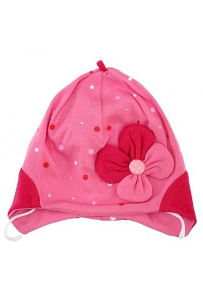 Caciula bebelusi roz fundita
