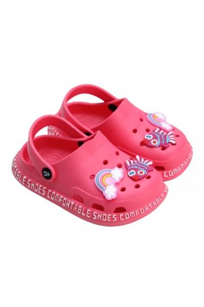 papuci copii roz-ciclamen eG