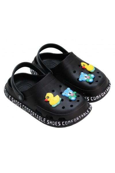 papuci copii negru eG