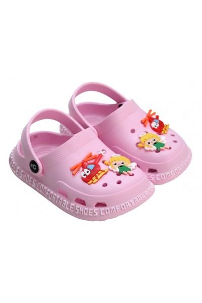 papuci copii roz deschis eG