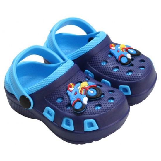 papuci copii bleumarin-bleu
