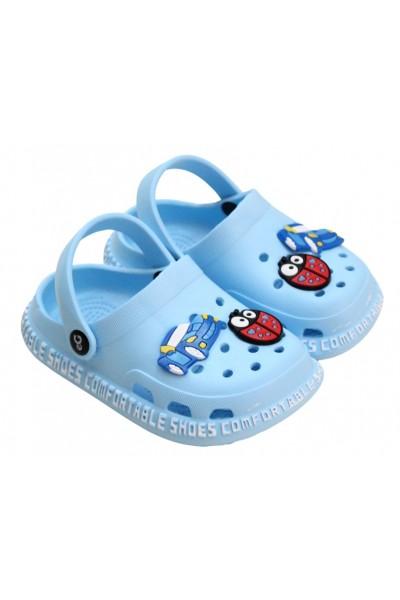 papuci copii bleu eG