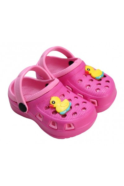 papuci copii ciclamen