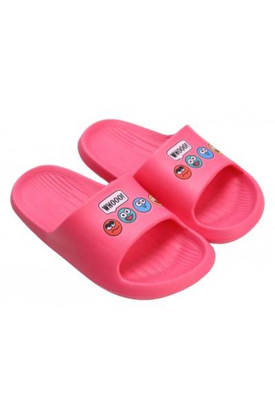 papuci copii ciclam whooo