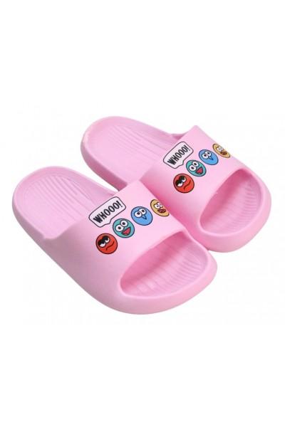 papuci copii roz deschis whooo