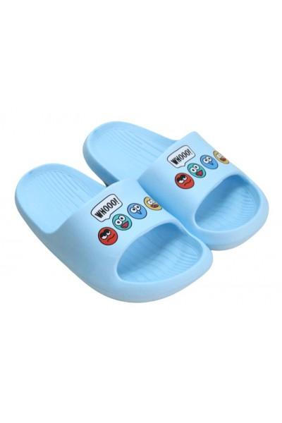 papuci copii bleu whooo