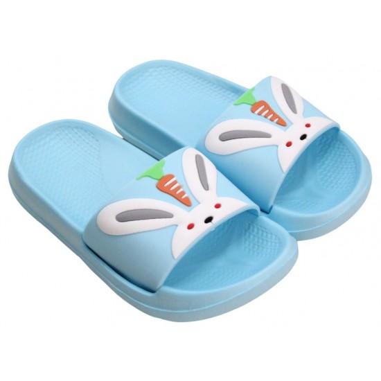 papuci copii bleu iepuras
