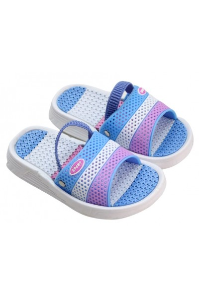 papuci copii bleu-mov sport
