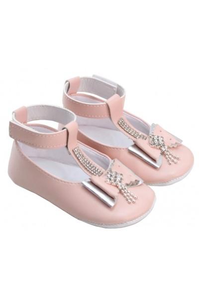 pantofiori fetite roz fundita pietricele