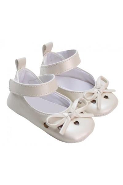 pantofiori fetite albi inimioare