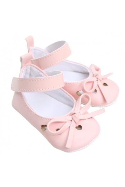 pantofiori fetite roz inimioare