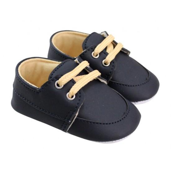 pantofiori baieti bleumarin sireturi crem