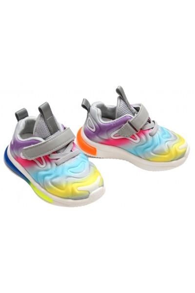 Adidasi fetite multicolori cu luminite
