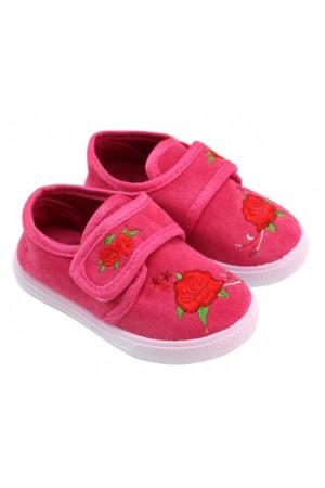 papuci interior roz trandafir