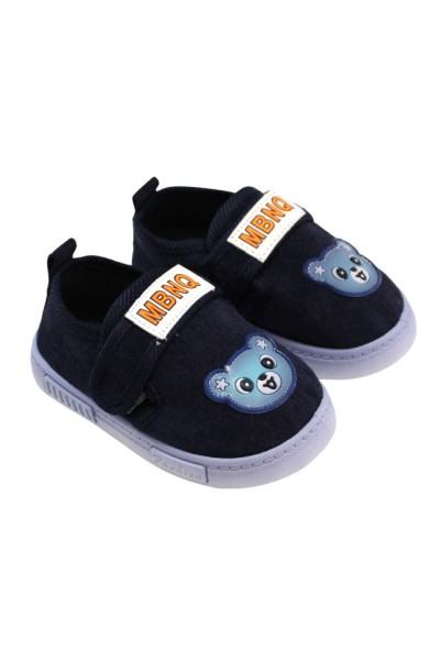 Papuci interior bleumarin ursulet