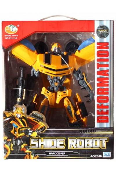 Robot Transformator galben