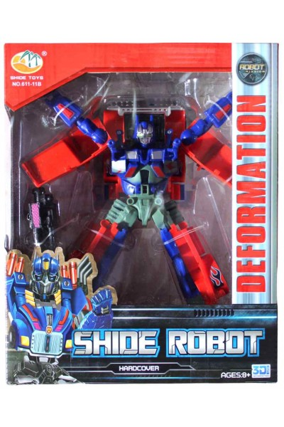 Robot Transformator rosu