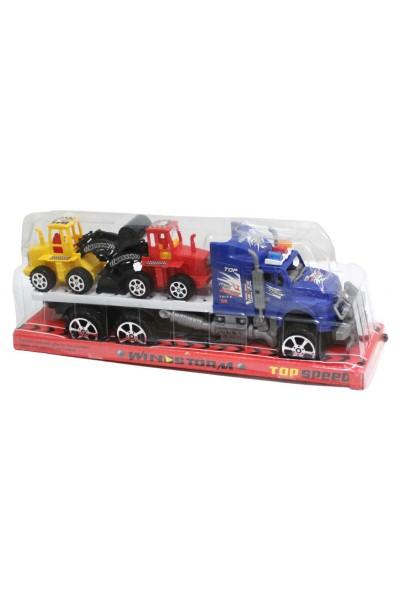 camion platforma masini