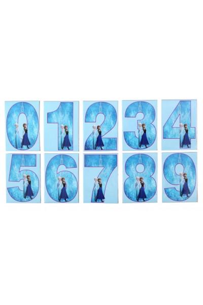 Set cifre magnetice frozen