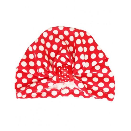 turban fetite rosu buline