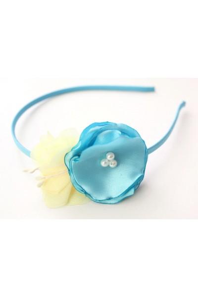 Cordeluta floricica bleu