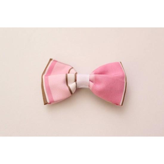 Agrafa fundita textila roz