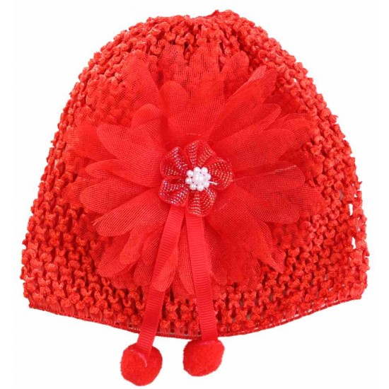 turban fete fantezie rosu