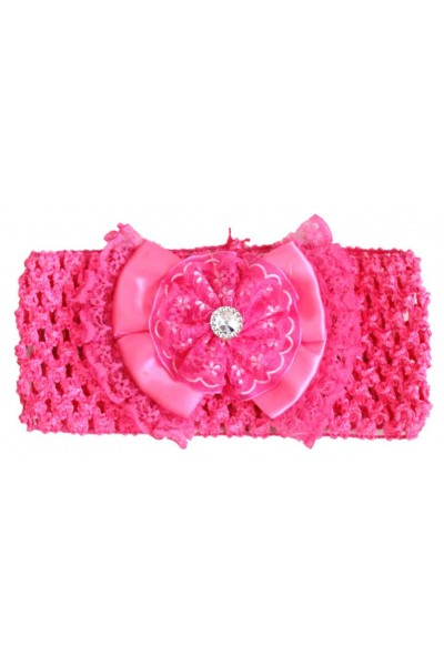 Bentita elastica roz cyclame fundita