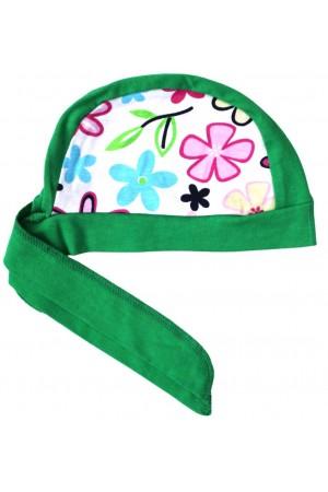 Bandana copii verde
