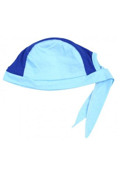 Bandana copii bleu albastru