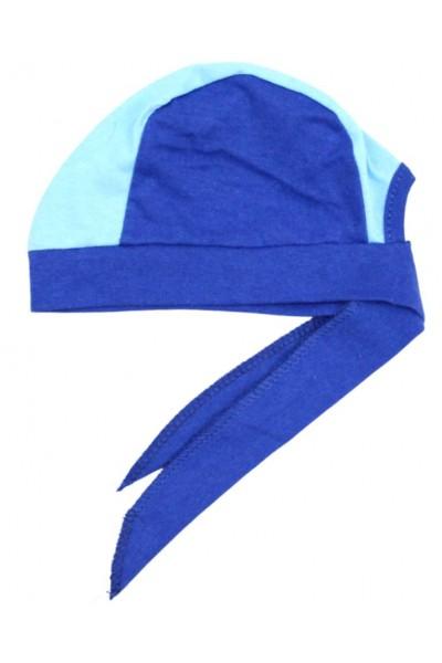 Bandana copii albastru bleu