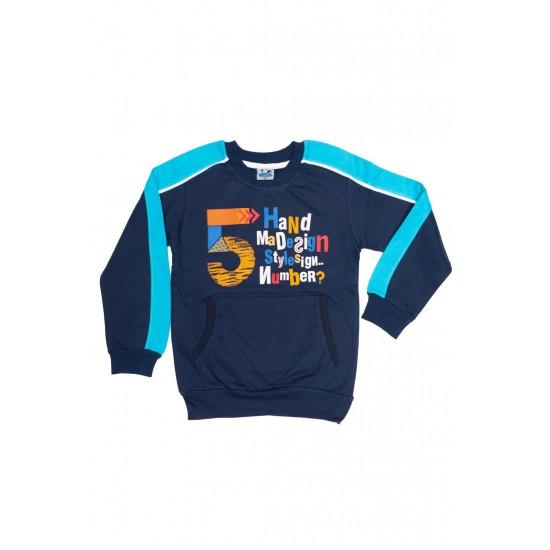 bluza copii mago bleumarin insert bleu