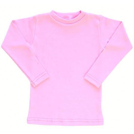 Bluza bumbac bebe roz