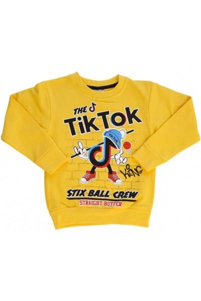 Bluza copii galbena Tik-Tok