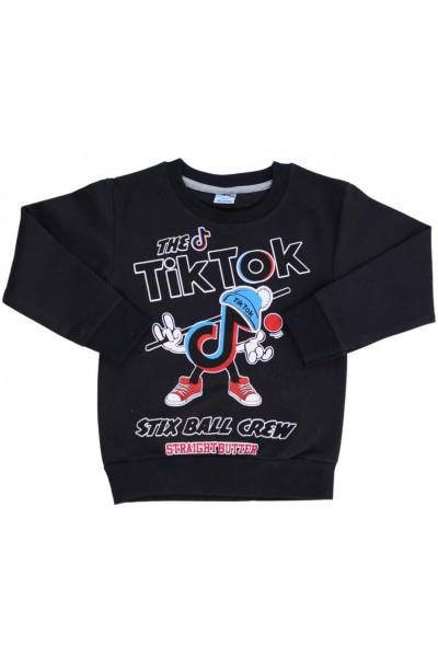 Bluza copii bleumarin inchis Tik-Tok