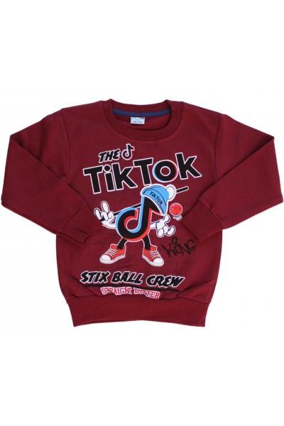 Bluza copii grena Tik-Tok