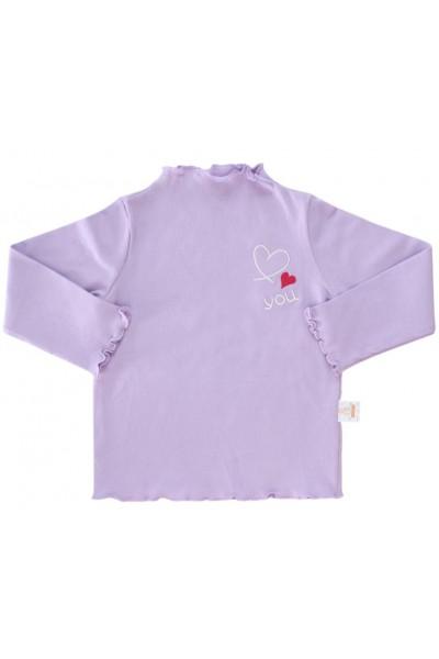 Bluza copii bumbac mov