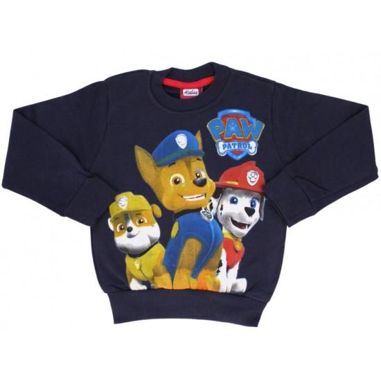 Bluza copii bumbac Patrol bleumarin