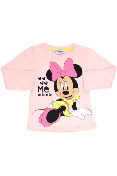 bluza fetite roz piersica mouse