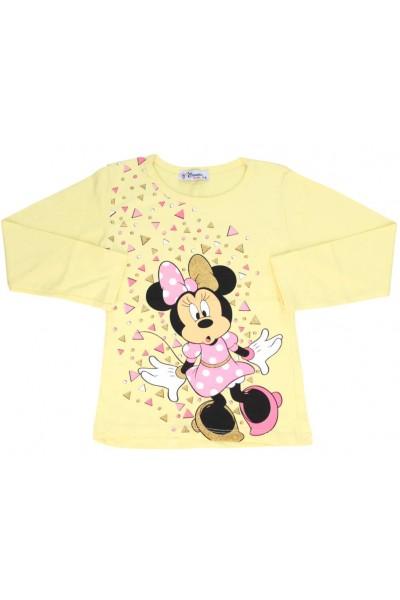 bluza fetite galbena mouse