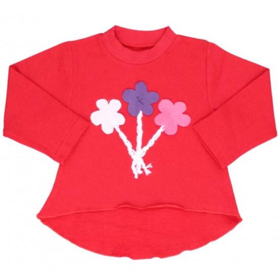 Bluza fetite rosie aplicatii