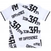 tricou copii difference alb
