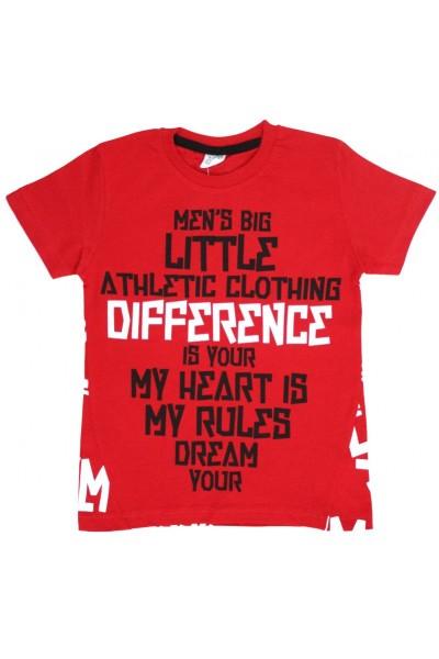 tricou copii difference rosu