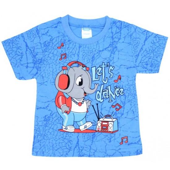 tricou bumbac bleu elefant