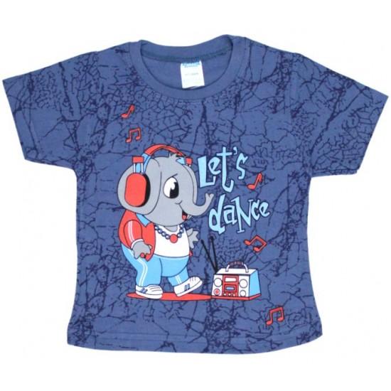 tricou bumbac bleumarin elefant