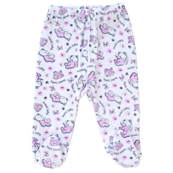 pantaloni botosel azuga animalute roz